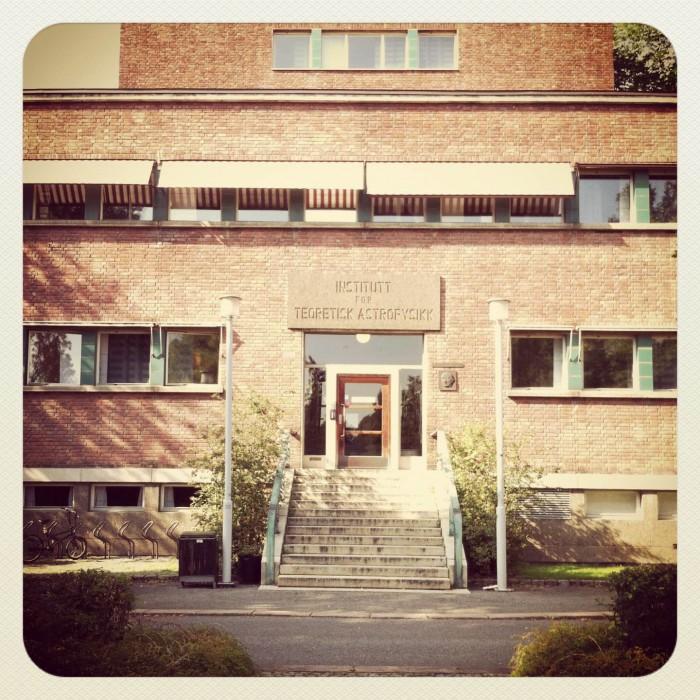 Instituttet for teoretisk astrofysikk på Blindern