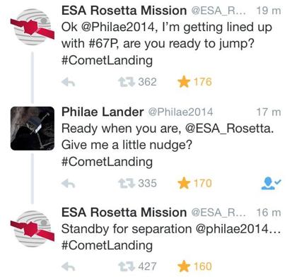 rosetta-tweets