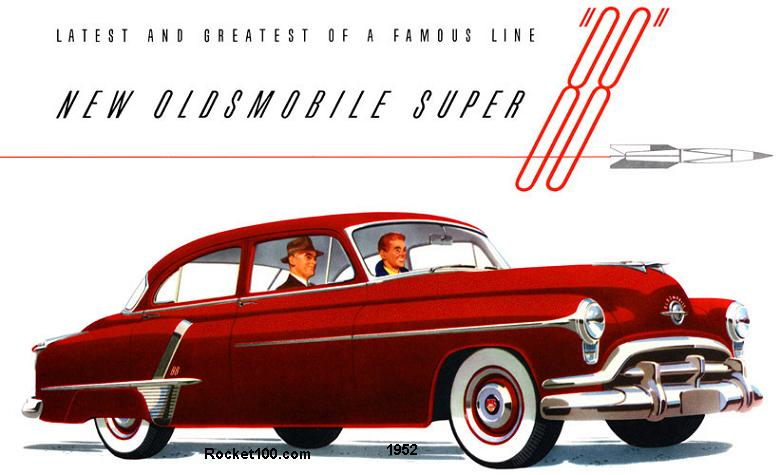 oldsmobile super 88 1952