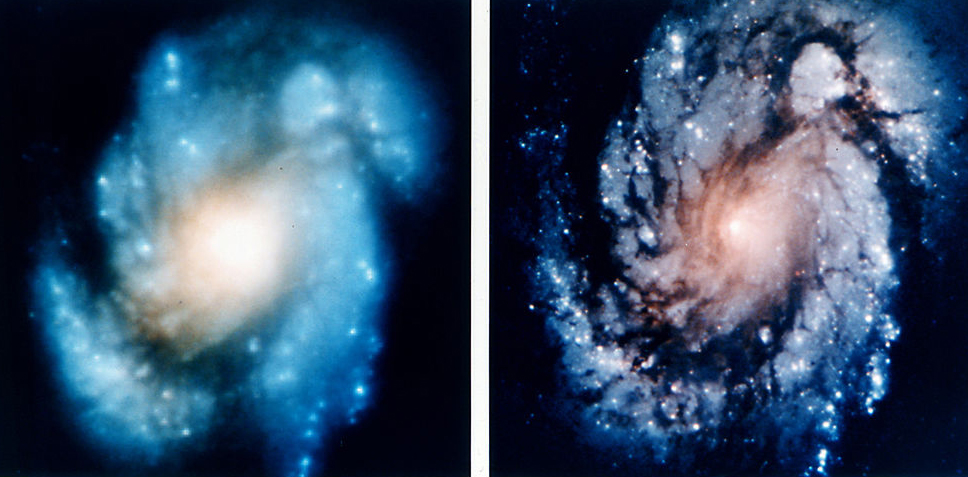 Hubble_M100_Before_and_After_Mirror_Repair_-_GPN-2002-000064