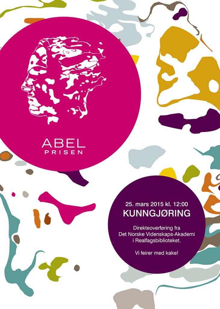 Abel - kunngjoring - plakat small