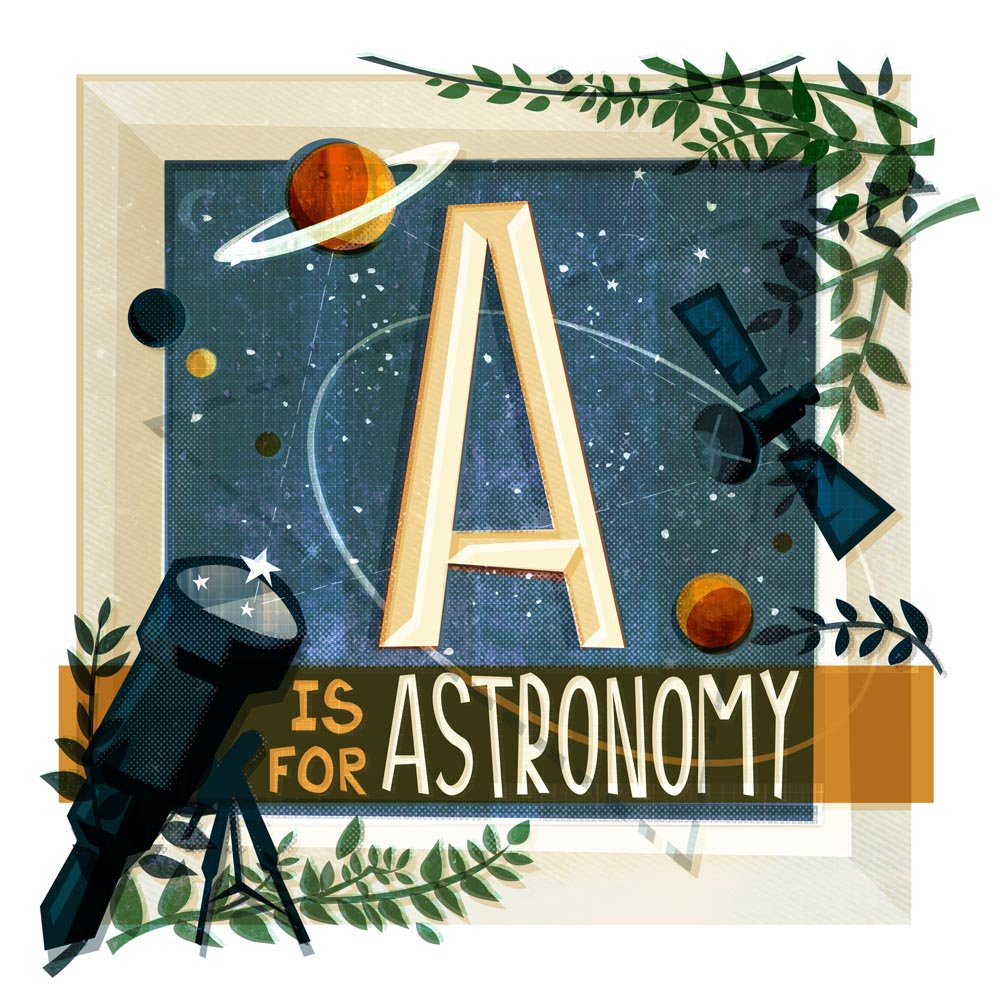 a_for_astronomy_illustration
