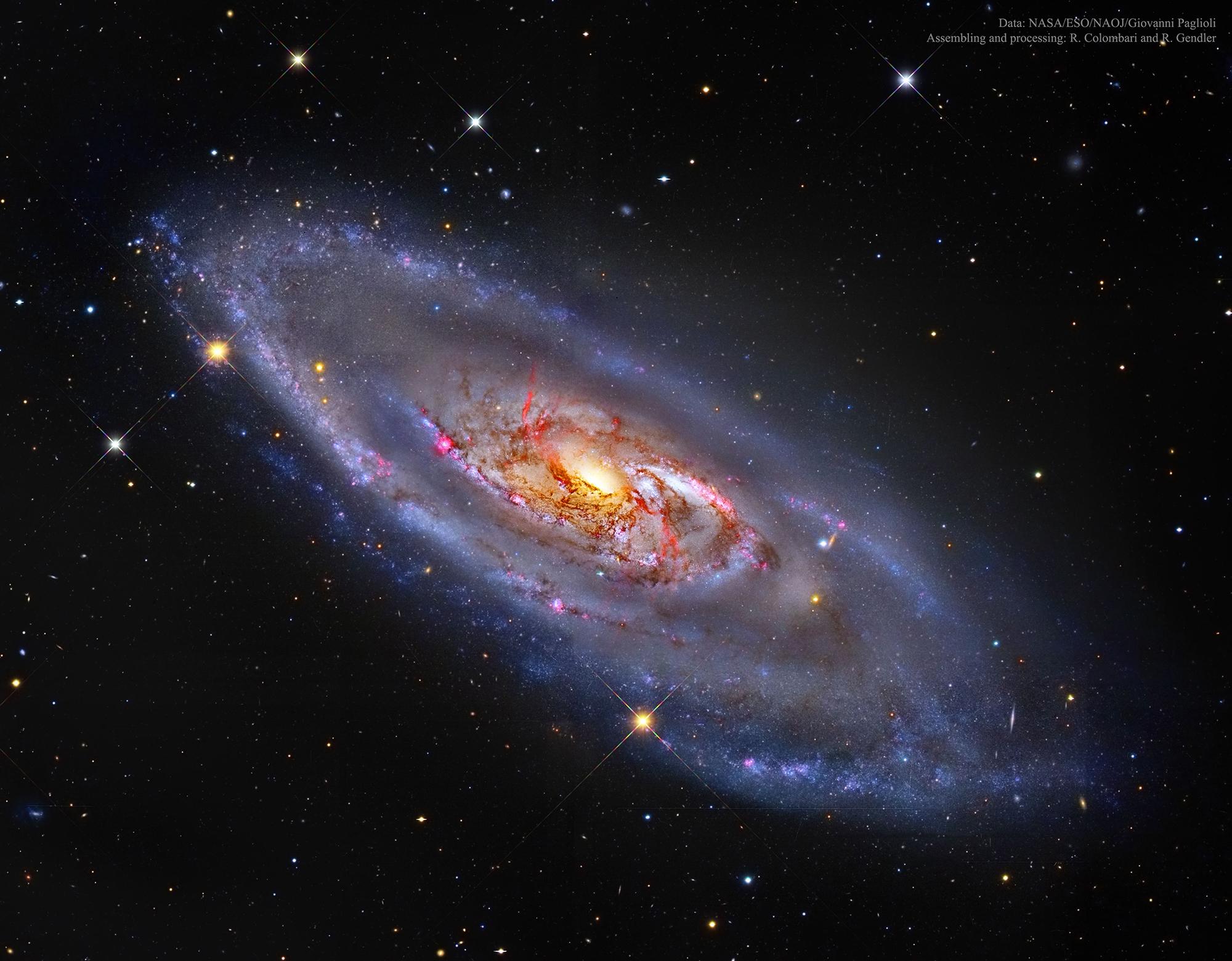 Vi ses om en stund, fine galaksen!