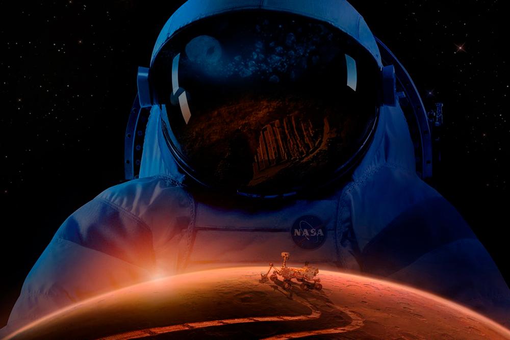 Hvor langt er det til Mars?