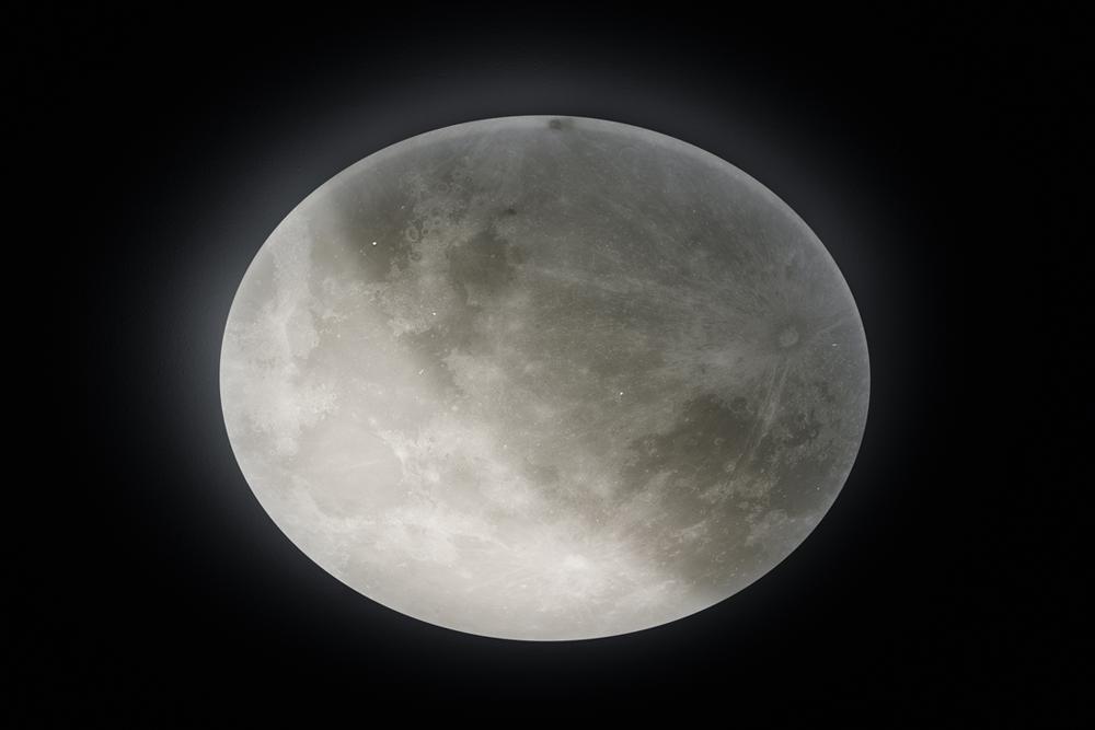 Månelampe til astrokontoret
