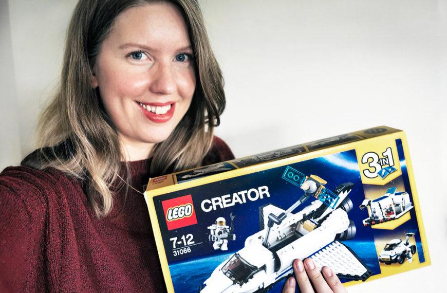 AstroMaria bygger: Lego 3-i-1 romsett
